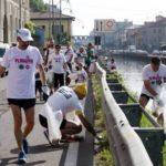 A Milano una corsa per ripulire le strade della città