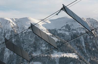 Energia solare: ecco la scelta green di alcune località di montagna europee